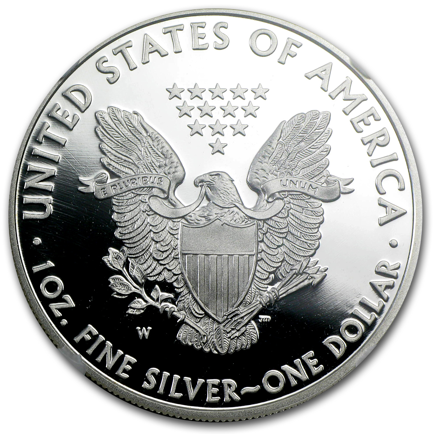 2011-W Proof Silver Eagle 25th Anniversary PF-70 NGC (ER)